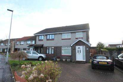 3 Bedrooms Semi Detached House for sale in Afton Drive, Renfrew, Renfrewshire