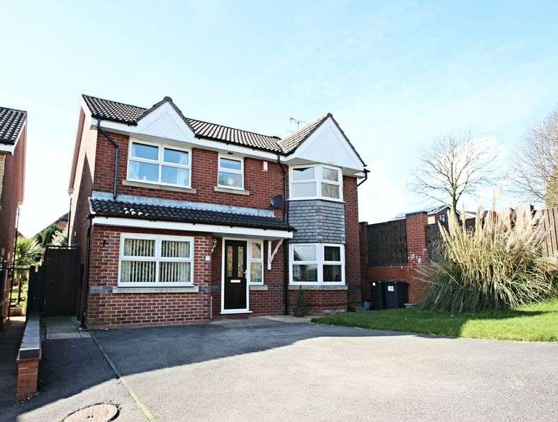 4 Bedrooms Detached House for sale in Burnwood Grove, Kidsgrove