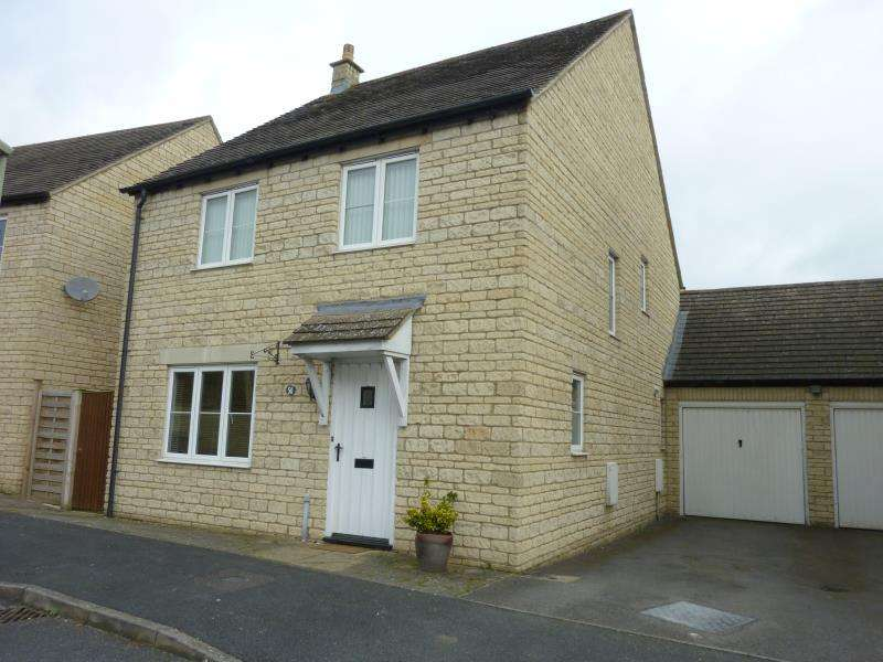 4 Bedrooms Detached House for sale in Woodrush Gardens, Carterton, Oxon