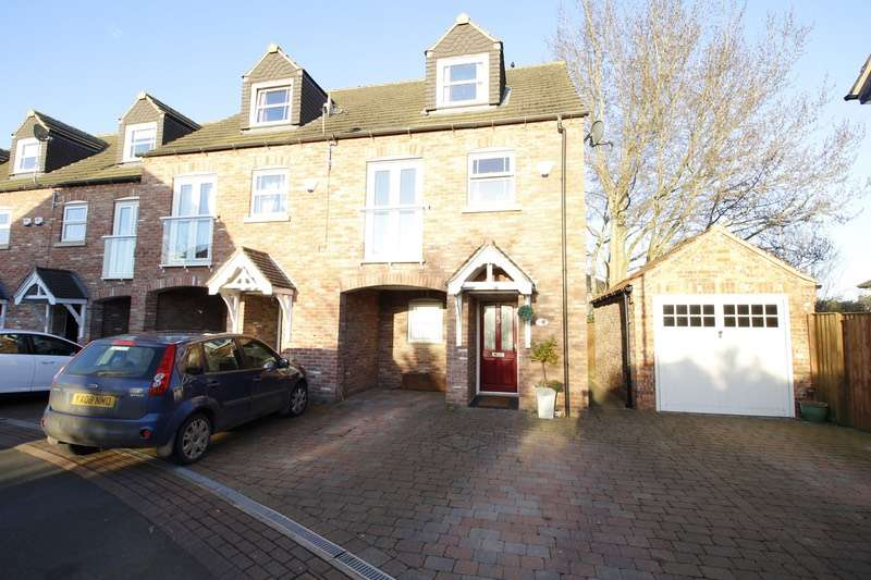3 Bedrooms Town House for sale in Tower Gardens, Doncaster, South Yorkshire, DN7