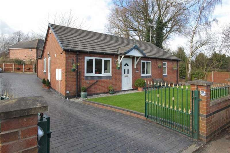 3 Bedrooms Detached Bungalow for sale in Cobbs Lane, Hough, Cheshire