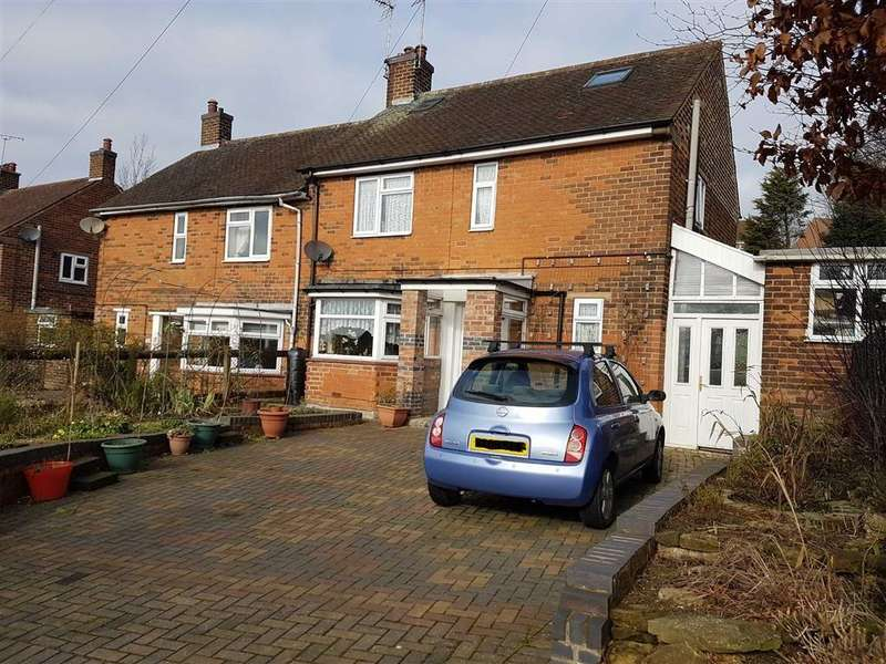 3 Bedrooms Semi Detached House for sale in Oakland Avenue, Huthwaite, Nottinghamshire, NG17