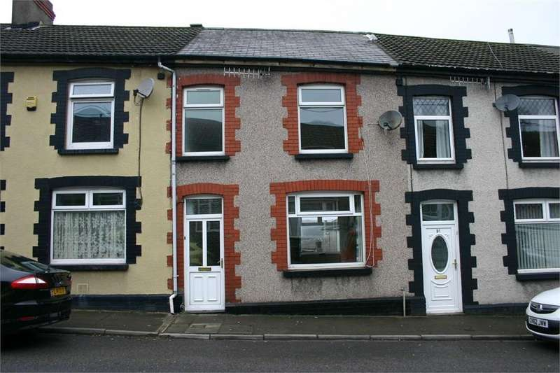 2 Bedrooms Terraced House for sale in Wood Street, Cilfynydd, Pontypridd, Mid Glamorgan