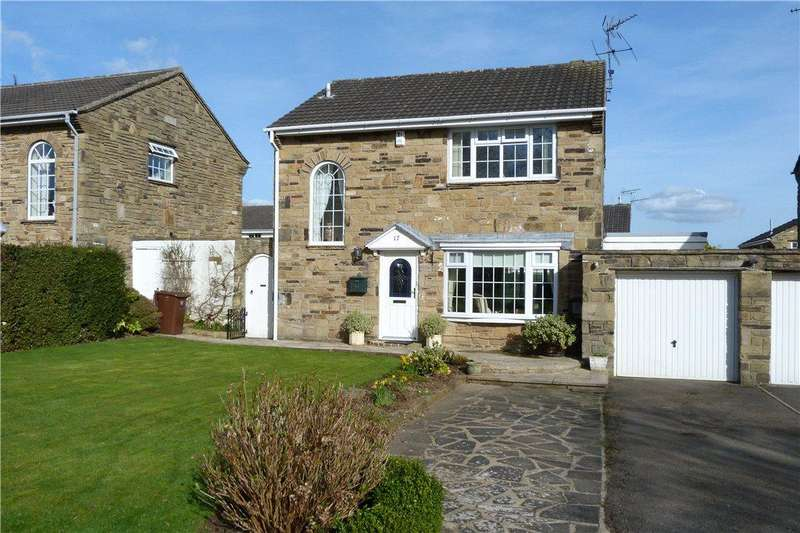 3 Bedrooms Detached House for sale in Egglestone Square, Boston Spa, Wetherby, West Yorkshire