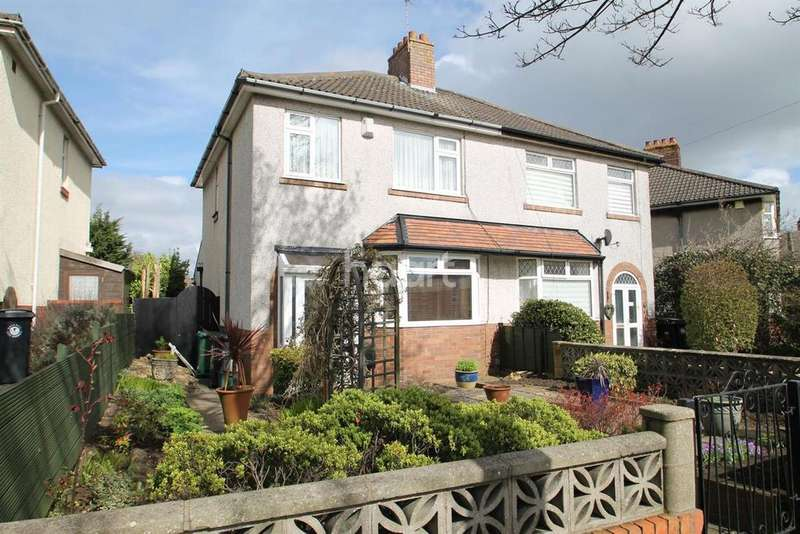 3 Bedrooms Semi Detached House for sale in Monks Park Road