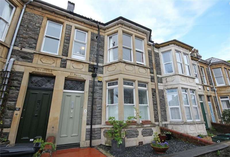 2 Bedrooms Maisonette Flat for sale in Sefton Park Road, St. Andrews, Bristol, BS7