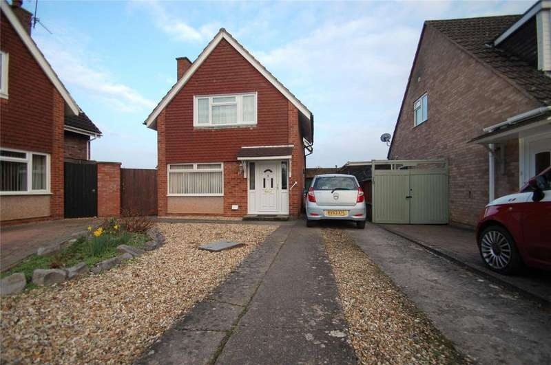 3 Bedrooms Detached House for sale in Tetton Close, Durleigh, Bridgwater, Somerset, TA6