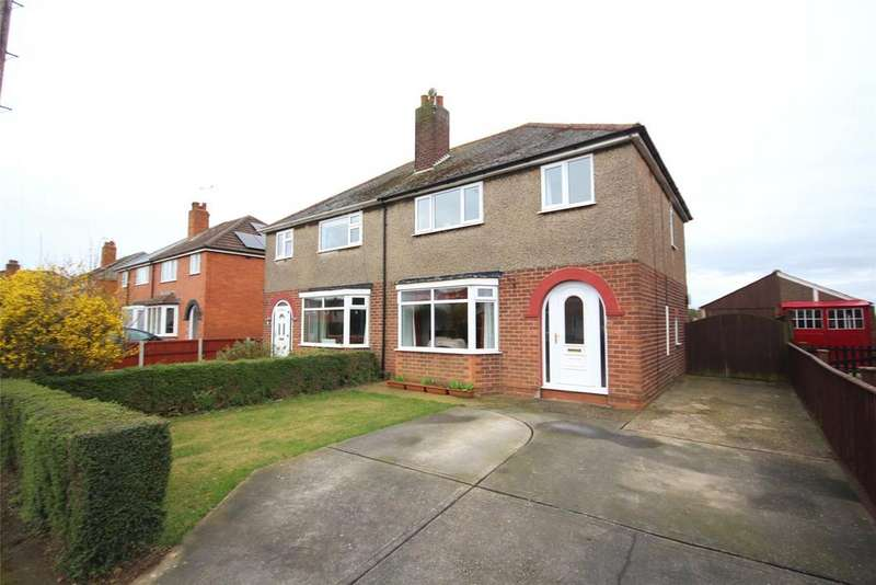 3 Bedrooms Semi Detached House for sale in Heath Road, Bracebridge Heath, LN4