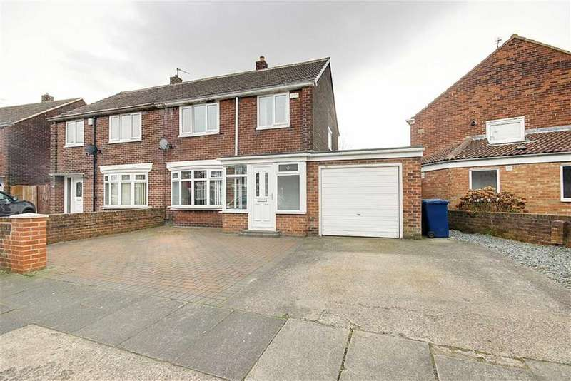 3 Bedrooms Semi Detached House for sale in Rembrandt Avenue, South Shields, Tyne And Wear