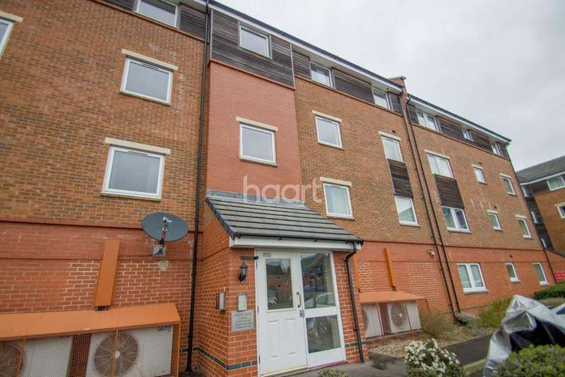 2 Bedrooms Flat for sale in Yersin Court, Swindon, Wiltshire