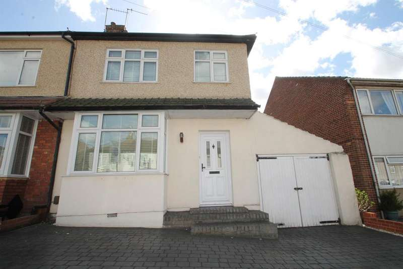 3 Bedrooms Semi Detached House for sale in Standard Road, Bexleyheath, Kent, DA6 8DP