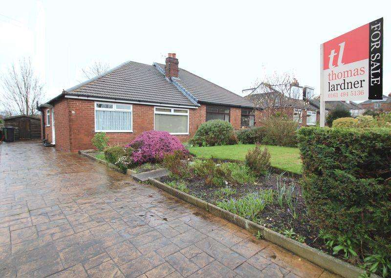 2 Bedrooms Semi Detached Bungalow for sale in Beacon Road, Romiley