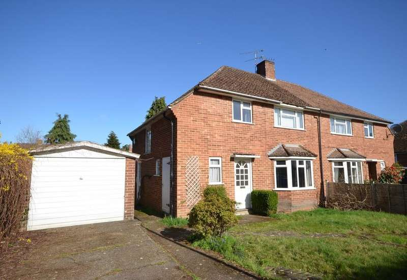 3 Bedrooms Semi Detached House for sale in Moore Close, Church Crookham