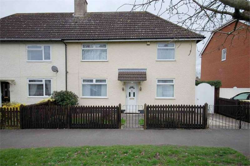 2 Bedrooms Semi Detached House for sale in Pendred Road, Bilton, RUGBY, Warwickshire