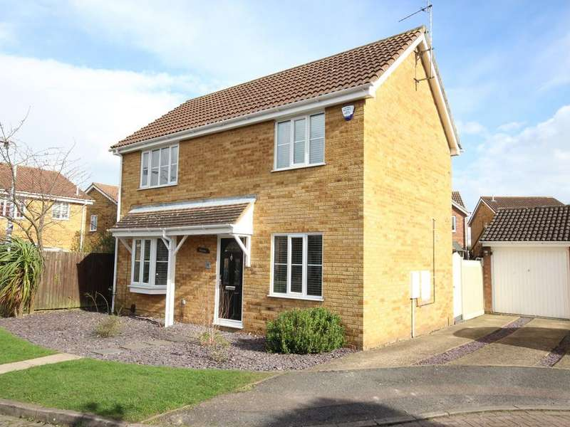 3 Bedrooms Detached House for sale in Gardeners Close, Flitwick, MK45