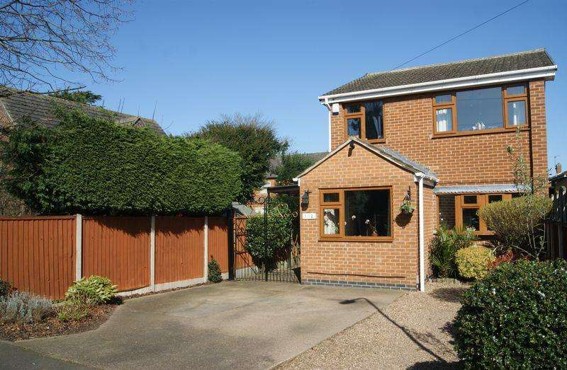 3 Bedrooms Detached House for sale in Hollies Avenue, Newark
