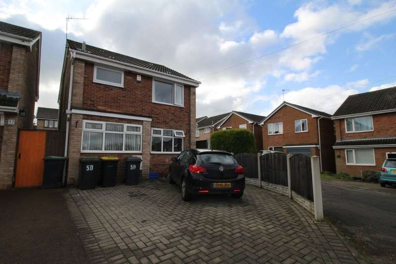 3 Bedrooms Detached House for sale in Brunel Avenue, Newthorpe, Nottingham, NG16