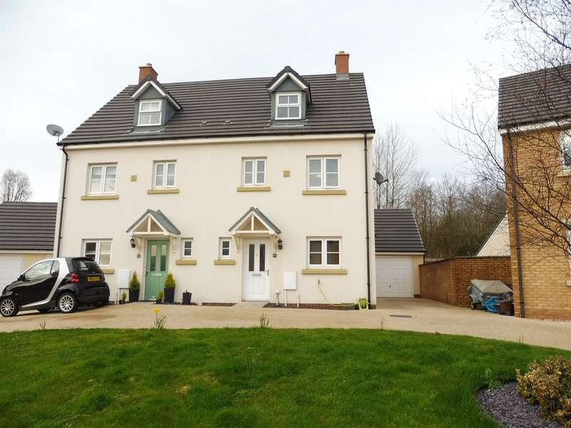 4 Bedrooms Town House for sale in Ffordd Y Grug, Coity, Bridgend