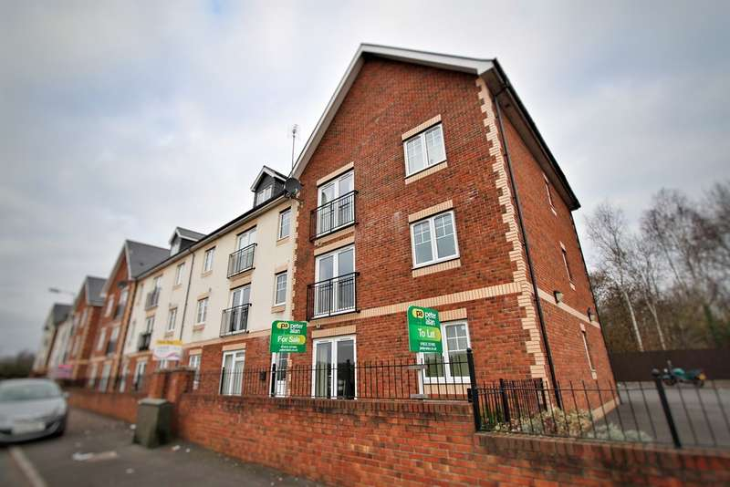 2 Bedrooms Apartment Flat for sale in Tregwilym Road, Rogerstone, Newport