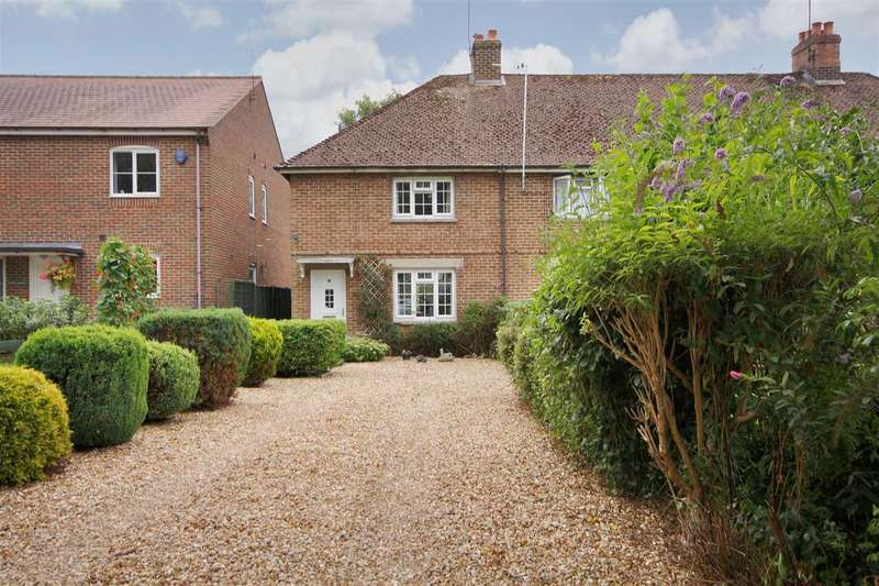 3 Bedrooms End Of Terrace House for sale in Egbury Road, St Mary Bourne, Whitchurch