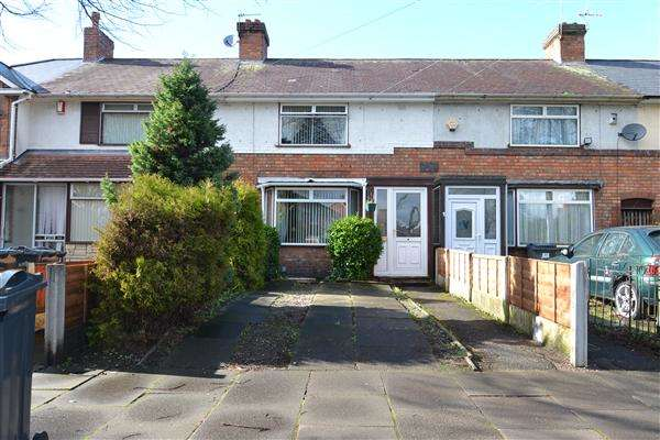 3 Bedrooms Terraced House for sale in Carshalton Road, Kingstanding, Birmingham