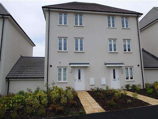 3 Bedrooms Town House for rent in Newcourt Way, Rydons, Exeter