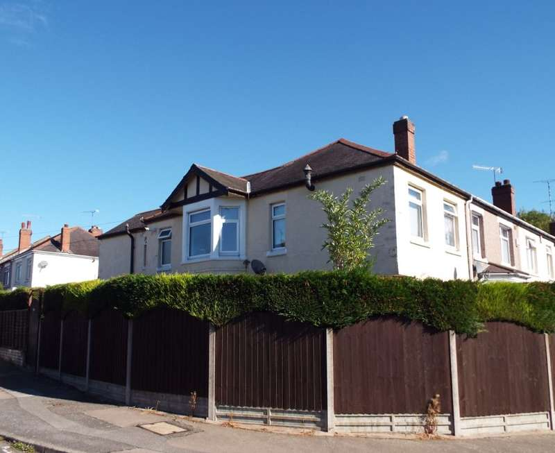 4 Bedrooms Semi Detached House for sale in Evenlode Crescent, Coventry, West Midlands, CV6 1BY