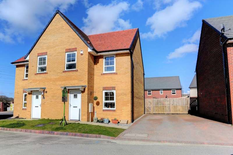 3 Bedrooms Semi Detached House for sale in Addison View, Stella Riverside, Blaydon-On-Tyne, NE21