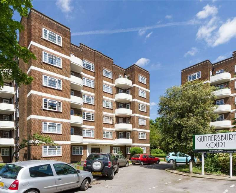 2 Bedrooms Flat for sale in Gunnersbury Court, Bollo Lane, Acton, London, W3 8JL