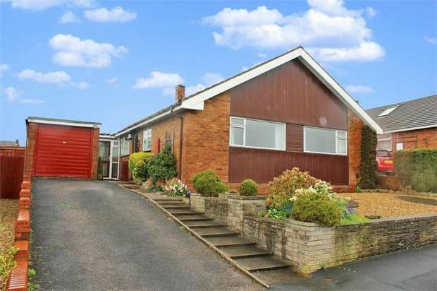 3 Bedrooms Detached Bungalow for sale in Avon Rise, Stafford