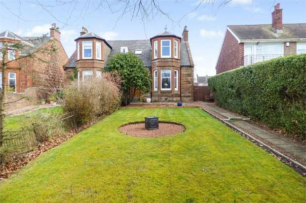 4 Bedrooms Semi Detached House for sale in Mansewell Road, Prestwick, South Ayrshire