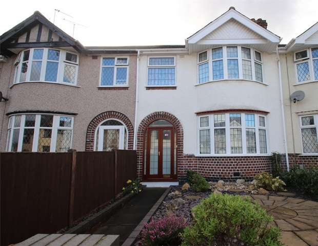 3 Bedrooms Terraced House for sale in Druid Road, Stoke, Coventry
