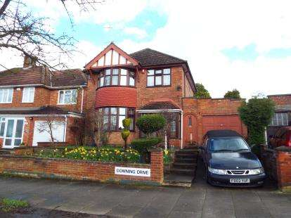 3 Bedrooms Detached House for sale in Downing Drive, Evington, Leicester, Leicestershire