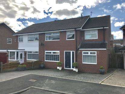 4 Bedrooms Semi Detached House for sale in Arlies Close, Stalybridge, Greater Manchester