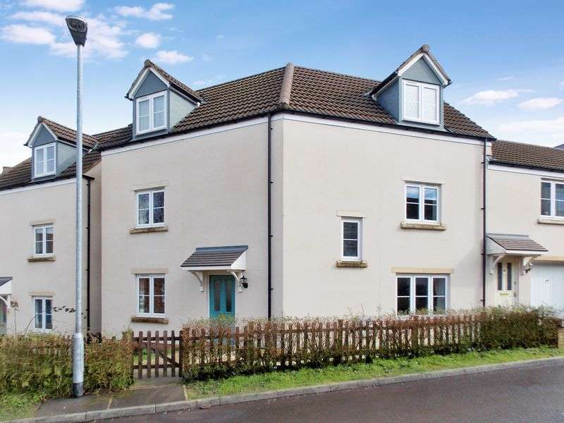 4 Bedrooms Semi Detached House for sale in Slipps Close, Frome