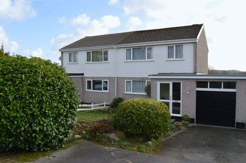 3 Bedrooms Semi Detached House for sale in Pennor Drive, St. Austell