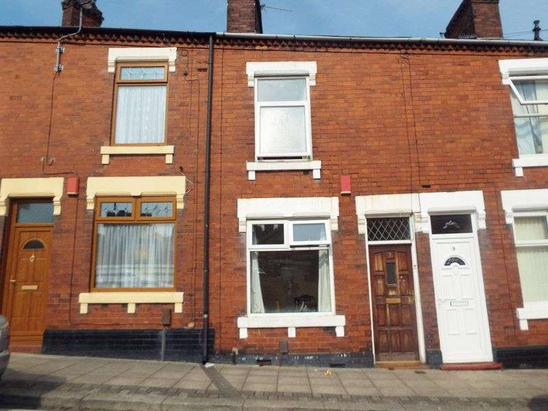 2 Bedrooms Terraced House for sale in Eagle Street, Hanley, Stoke-On-Trent