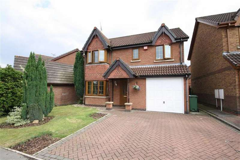 4 Bedrooms Detached House for sale in The Sycamores, Bedworth, Warwickshire