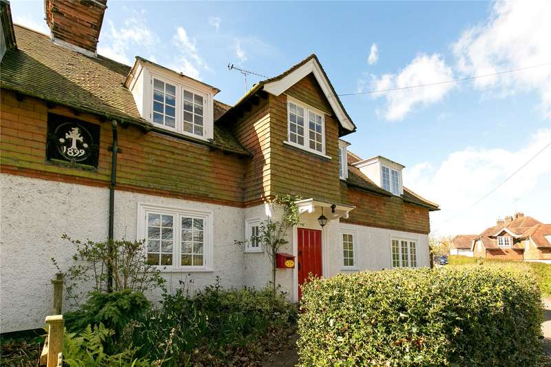 4 Bedrooms Semi Detached House for sale in Colinette Cottages, Chart Lane, Brasted, Westerham, TN16