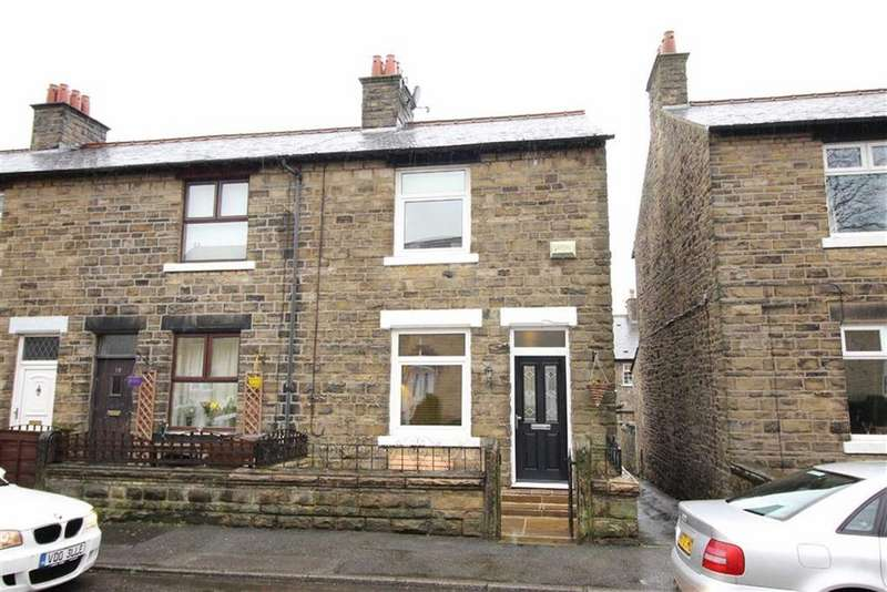 2 Bedrooms Terraced House for sale in Highfield Terrace, New Mills, High Peak, Derbyshire