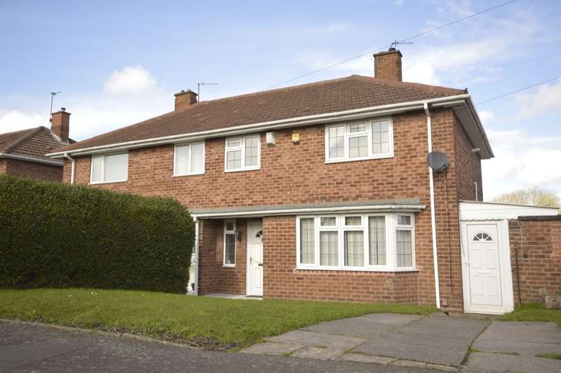 3 Bedrooms Semi Detached House for sale in Burcot Avenue, Wolverhampton, WV1