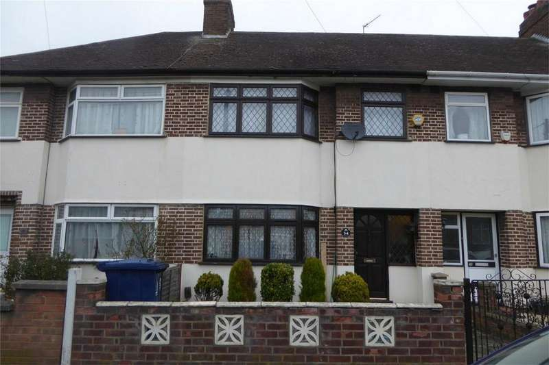 3 Bedrooms Terraced House for sale in Briar Crescent, Northolt, Greater London