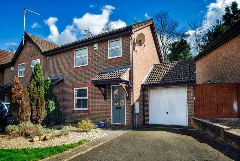 3 Bedrooms Semi Detached House for sale in St Michaels Drive, Garston, Hertfordshire, WD25