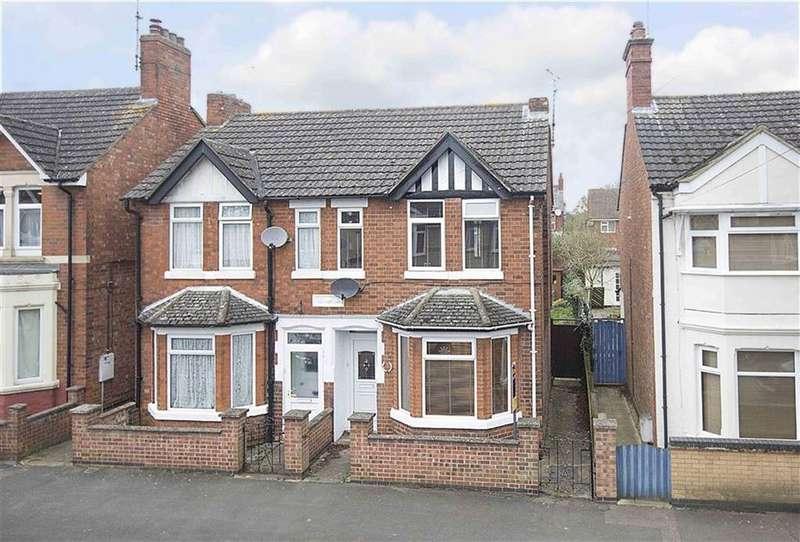 2 Bedrooms Semi Detached House for sale in Kingsley Avenue, Kettering