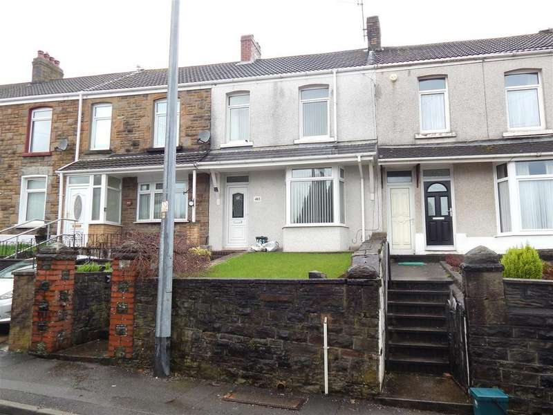 2 Bedrooms Terraced House for sale in Clydach Road, Ynysforgan, Swansea