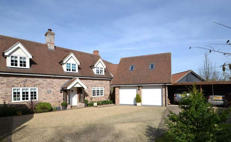 4 Bedrooms Detached House for sale in Noaks Road, Raydon, Ipswich, Suffolk