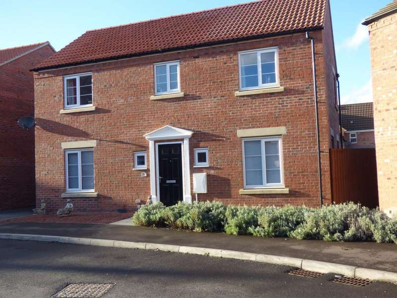 4 Bedrooms Detached House for sale in Roeburn Way, Spalding