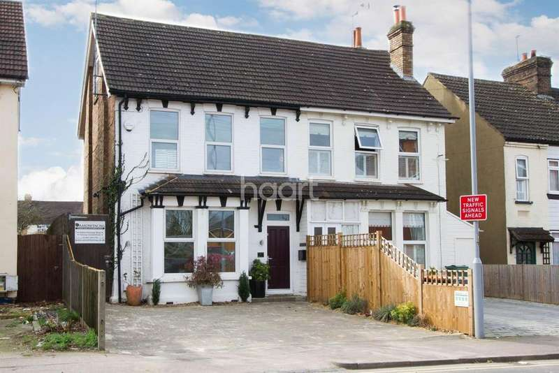 4 Bedrooms Semi Detached House for sale in Station Road