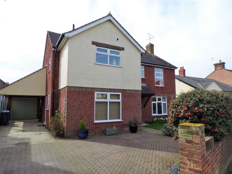4 Bedrooms Detached House for sale in Rushmere Road, Ipswich