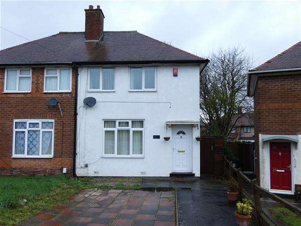2 Bedrooms Semi Detached House for sale in The Riddings, Stechford, Birmingham